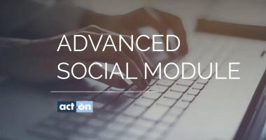 Act-On Product Demo for Advanced Social