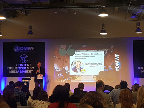 Glen Gilmore speach at DMWF 2019