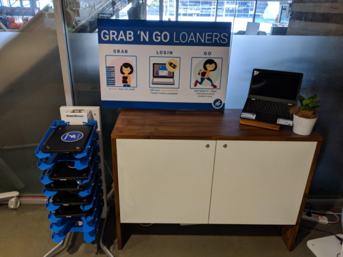 Grab and Go Chromebook Racks