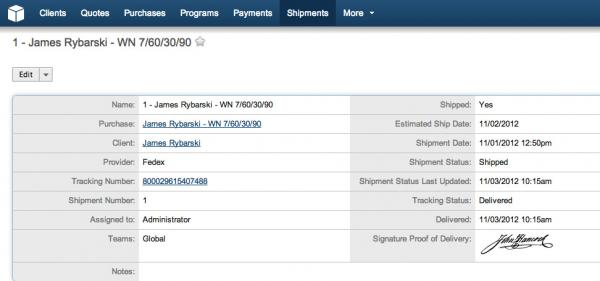 FedEx Shipping Integration with SugarCRM | W-Systems