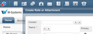 Create Note or attachment