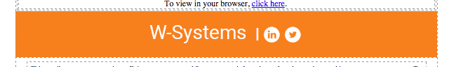 W-Systems email footer