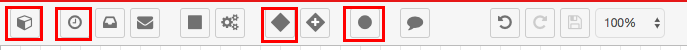 SugarCRM toolbar screenshot