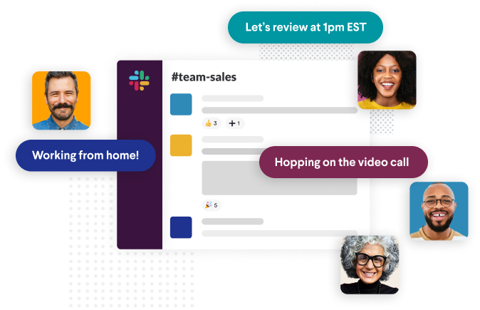 Slack is a communication app that can enforce better work from home etiquette.