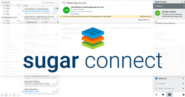 SugarCRM Sugar Connect Logo and Screenshot