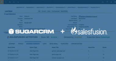 Salesfusion SugarCRM