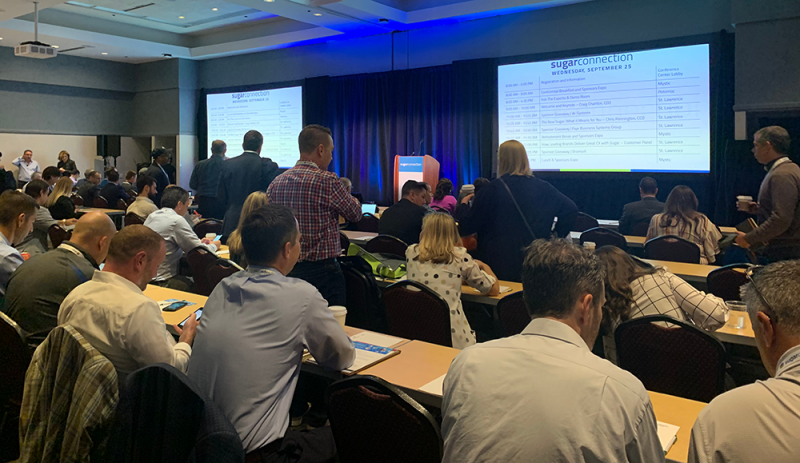 Boston SugarCRM SugarConnection 2019 conference room