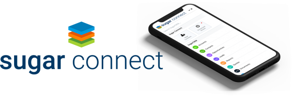 Sugar Connect logo and Mobile