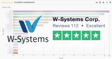 W-Systems TrustPilot Review Score