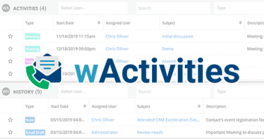 wActivities Thumbnail Screenshot
