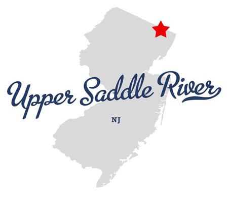 Upper Saddle River map