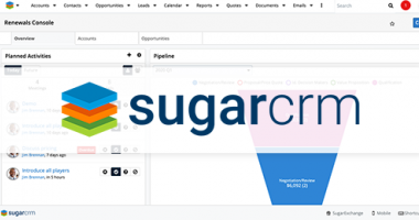 The Renewals Console, a feature within Sugar Sell, is a significant differentiator for Sugar. Where other CRMs require extensive customization or third-party integration for duration-based renewable services, Sugar is providing this feature as core functi
