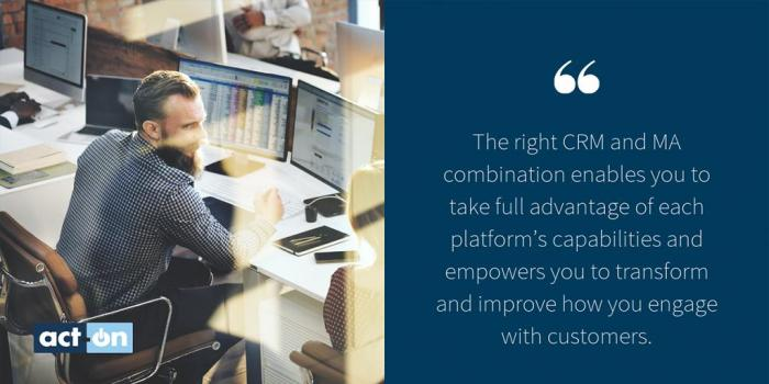 Act-On CRM quote
