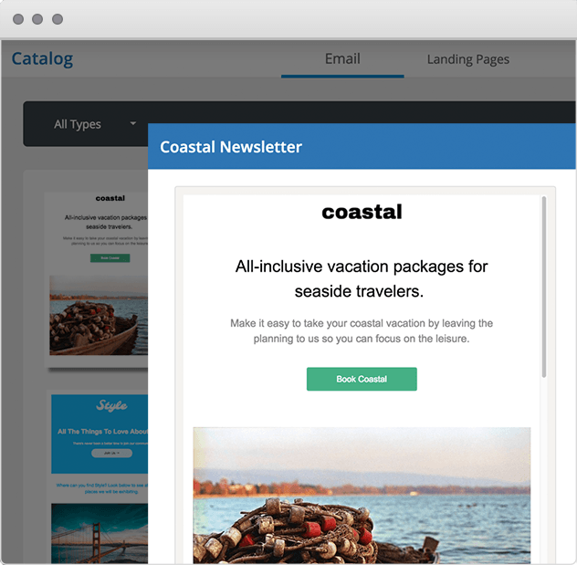 Act-On Marketing Automation Emails for Travel Agencies