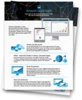 Amazon QuickSight: Overview datasheet