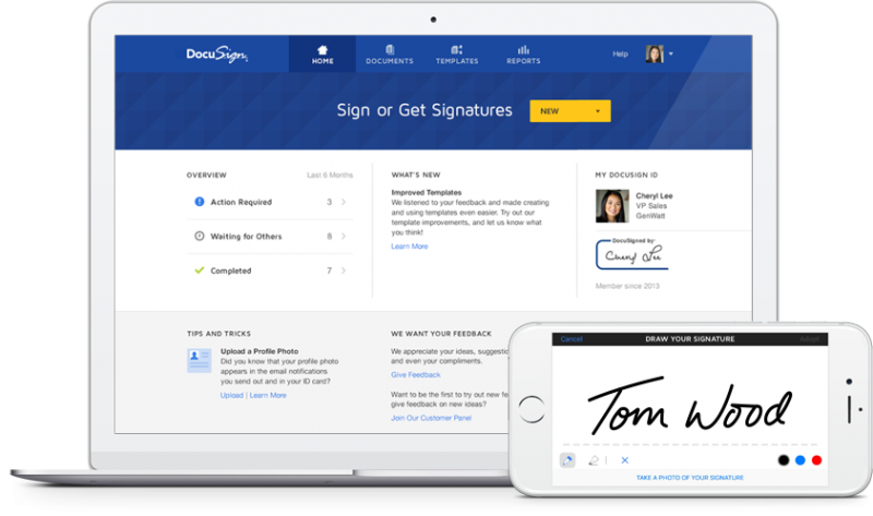 DocuSign Resale Partner Devices Image