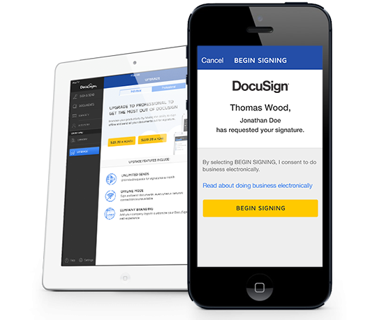 Sign Any Document Online With DocuSign ESignature
