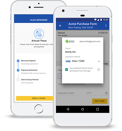 DocuSign eSignature eliminates manual tasks and increases convenience for your customers and employees.