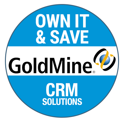 GoldMine is one of the only CRM tools in the market available as an on-premise, or on-cloud solution, making this CRM system very affordable.