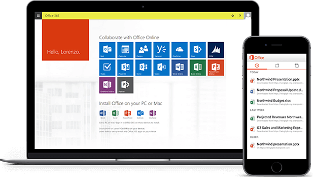 Office 365 graphics