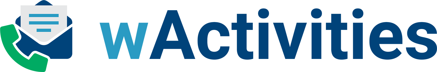 wActivities for SugarCRM logo