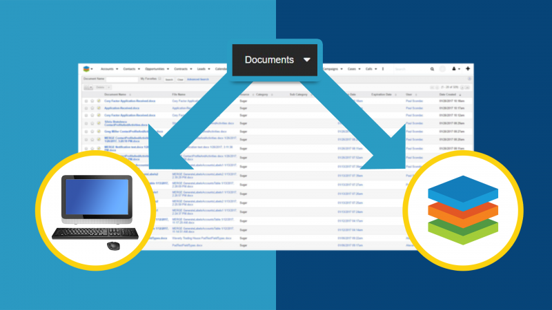 Create local or SugarCRM documents