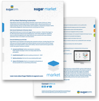 SugarCRM Sugar Market Datasheet preview