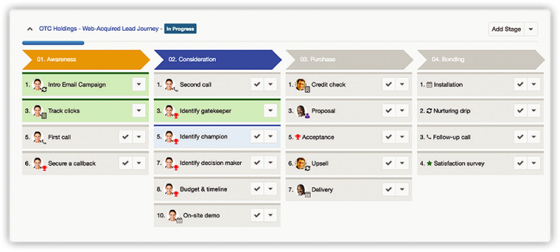 Customer Journey Plug-In for Sugar screenshot