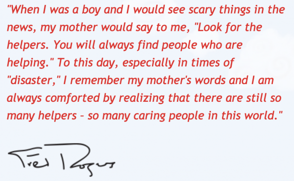 Mr Rogers quote screenshot