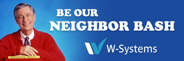 Be our neighbor bash banner image