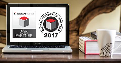 SugarCRM Global Partner of the Year 2017 Graphics