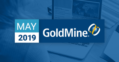 W-Systems GoldMine CRM Newsletter May 2019