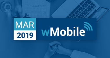 wMobile for GoldMine CRM newsletter for March 2019