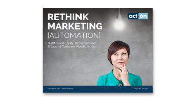 Rethink Marketing Automation