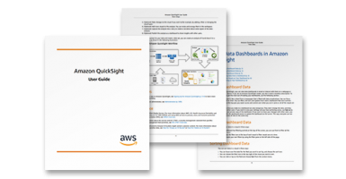 Amazon QuickSight: User Guide