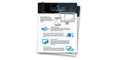 Amazon QuickSight Overview datasheet