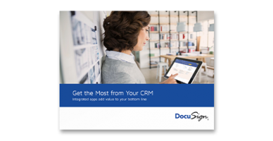 Get The Most From Your CRM: Integrated Apps Add Value to Your Bottom Line ebook cover