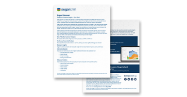 W-Systems knows SugarCRM Sugar Discover inside out. With hundreds of business intelligence implementation projects under its belt, W-System is the best technology partner choice; W-Systems is properly equipped to correctly assist and guide companies, of a