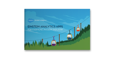 Einstein Analytics Apps for Everyone in Every Industry ebook cover
